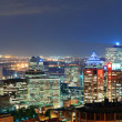 Montreal at dusk panorama — Stock Photo