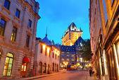 отель chateau frontenac — Стоковое фото