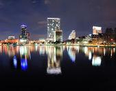 Orlando night panorama — Stock Photo