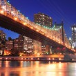 queensboro bridge and manhattan — Stock Photo #27046097