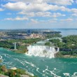 Niagara Falls aerial view — Stock Photo