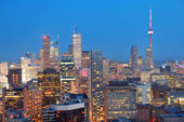 Toronto dusk — Stock Photo