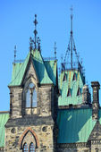 Ottawa historical buildings — Stock Photo