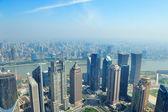 Shanghai aerial view — Stock Photo