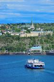 Quebec city tekne — Stok fotoğraf