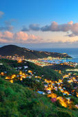 St Thomas sunset — Stock Photo