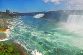 Niagara Falls overlook — Stock Photo