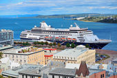 Cruise ship in Quebec City — Stock Photo