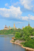 Ottawa cityscape — Stock Photo