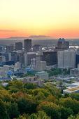 Montreal sunrise — Stock Photo