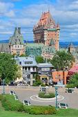 Quebec City cityscape — Stock Photo