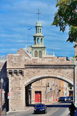 Porte Dauphine in Quebec City — Stock Photo