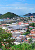 St Thomas harbor — Stock Photo
