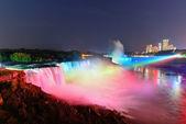 Niagara Falls in colors — Stock Photo