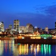 Montreal over river at dusk — Stock Photo #29887021