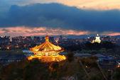 Beijing at night — Stock Photo