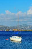 Virgin Islands boat — Stock Photo