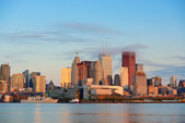 Toronto sunrise — Stock Photo