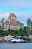 Quebec City skyline — Stock Photo