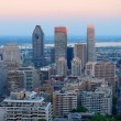 Montreal city skyline — Stock Photo
