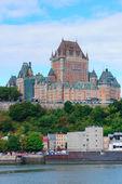 Skyline van de stad Quebec — Stockfoto