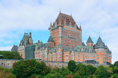 Chateau Frontenac in the day — Stock Photo