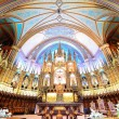 Montreal Notre-Dame Basilica — Stock Photo #31664593