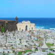 Cemetery in old San Juan — Stockfoto