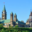 Ottawa Parliament Hill building — Stock Photo #35505301