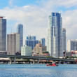 Miami skyscrapers — Stock Photo