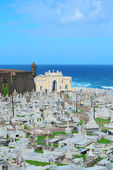 Cemetery in old San Juan — Stock Photo