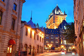 Chateau Frontenac — Stock Photo