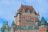 Chateau Frontenac in the day — Foto Stock