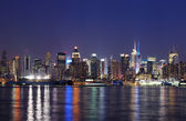 Manhattan midtown di New york city — Foto Stock