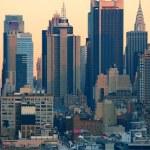 New York City sunset — Stock Photo #35519831
