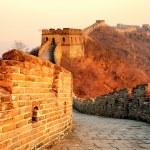 Great Wall sunset — Stock Photo #35519957