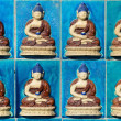 Buddha statue pattern — Stock Photo