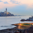 New York City downtown sunset — Stock Photo #36878941