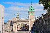 Porte dauphine w Quebec — Zdjęcie stockowe