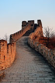 Great Wall sunset — Stock Photo