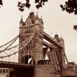 Tower Bridge in UK — Stock Photo