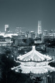 Pekin nocą — Zdjęcie stockowe
