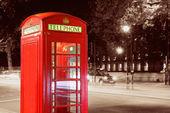London Telephone Booth — Stock Photo