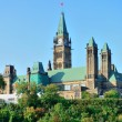 Ottawa Parliament Hill building — Stock Photo #38617823