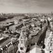 Stock Photo: London rooftop view