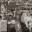 Foto Stock: London rooftop view