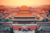 皇家宫殿北京 — 图库照片