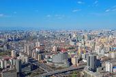 Vista aérea de beijing — Foto de Stock