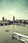 London Thames River — Stock fotografie