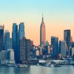 New York City sunset — Stock Photo #39924439